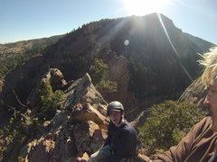 Rock Climbing Photo: best face ever