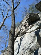 Rock Climbing Photo: Buddy demonstrating how its done
