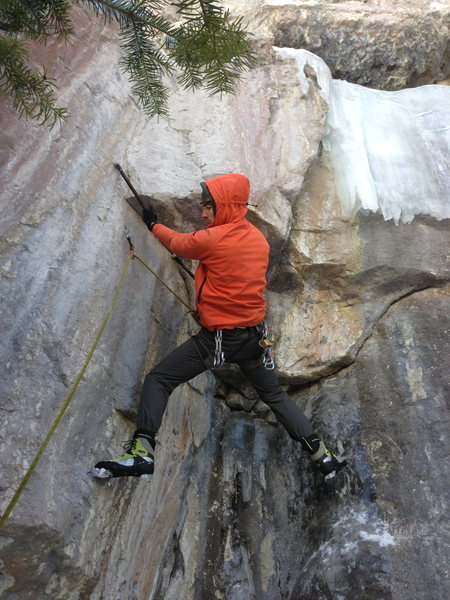 Rock Climbing Photo: The second clip counts.