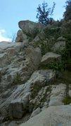 Rock Climbing Photo: Part of the creek descent.