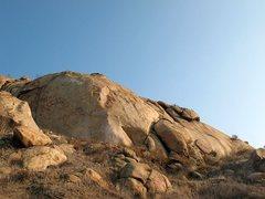 Rock Climbing Photo: Superstar Slab, Mt. Rubidoux