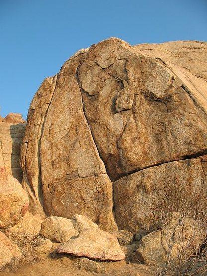 Half Dome Boulder, Mt. Rubidoux