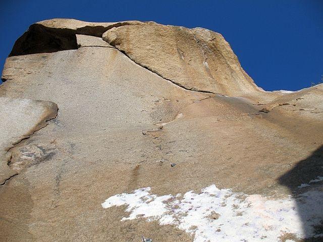 Rock Climbing Photo: A Major Concept (5.12a), Mt. Rubidoux