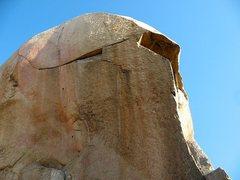 Rock Climbing Photo: Major (North Face), Mt. Rubidoux