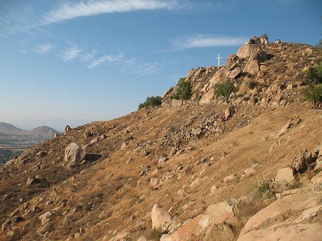 Harrison Boulder, Mt. Rubidoux
