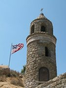 Rock Climbing Photo: World Peace Tower, Mt. Rubidoux