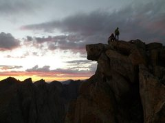 Rock Climbing Photo: Warbonnet Peak.  Cirque of the Towers, Wind River ...