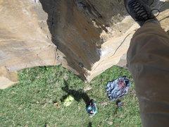 Rock Climbing Photo: The sport route arete
