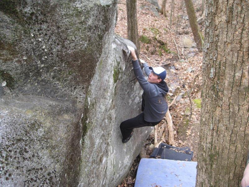 Rock Climbing Photo: Indiana Jones, Mt Yonah, GA