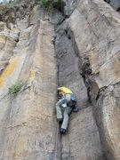 Rock Climbing Photo: perfect hands, good cams, modern two bolt anchor