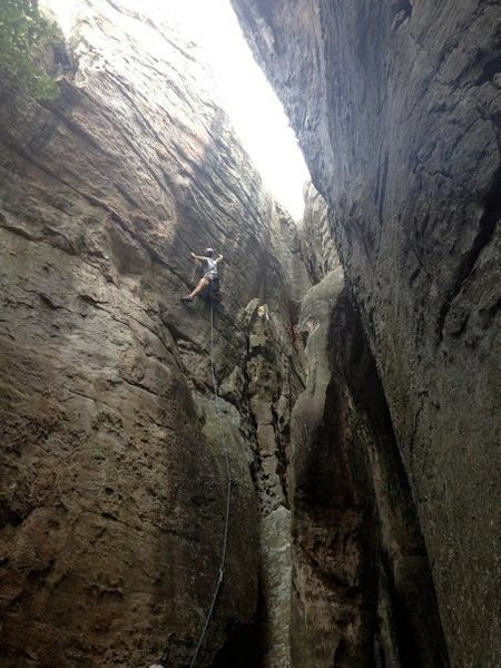 Rock Climbing Photo: Disney land!