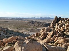 Rock Climbing Photo: The view from The Cornerstones, The Cemetery