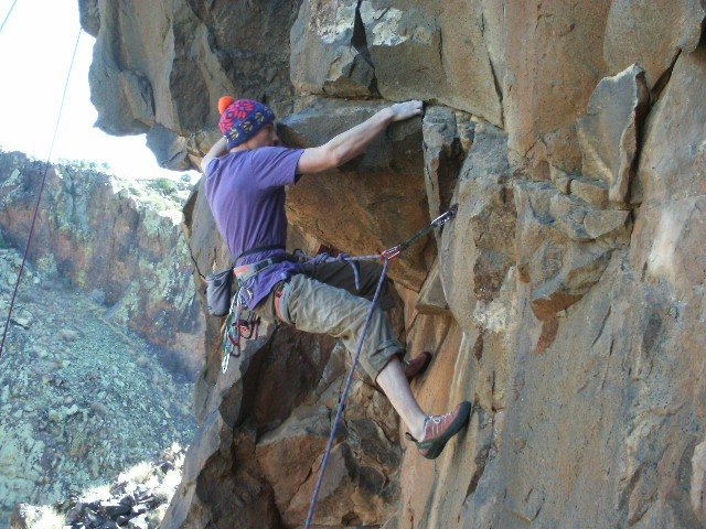 Rock Climbing Photo: Espirit de Corps