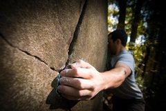 Rock Climbing Photo: Mount Gretna's diabase texture...mmm. delicious. d...