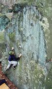 Rock Climbing Photo: Matt on the Flaming Moe. Nockamixon, PA. November ...