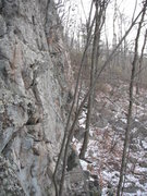 Rock Climbing Photo: Base of Exploration Wall looking South (away from ...