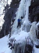 Rock Climbing Photo: Jay on the start