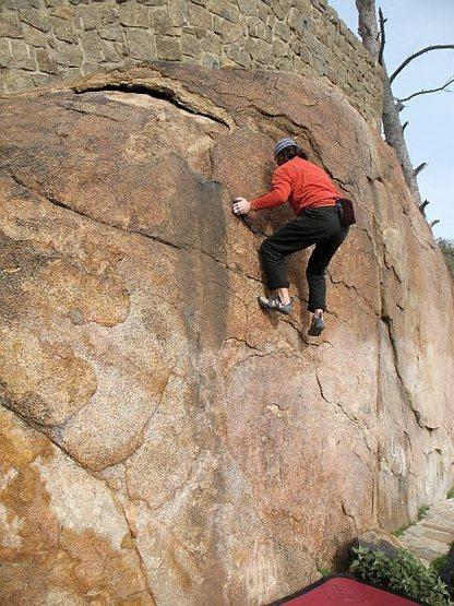 Honeycombs (V-easy), Mt. Rubidoux