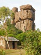 Rock Climbing Photo: KIT MIKAYI These are sacred rocks on Kenyan Wildli...