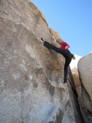 Rock Climbing Photo: Indian Cove, Joshua Tree 02-13