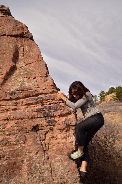 Rock Climbing Photo: Bouldering @ Horsetooth