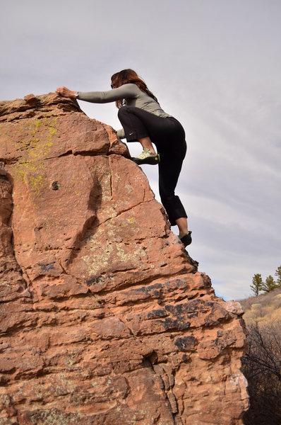 Bouldering @ Horsetooth