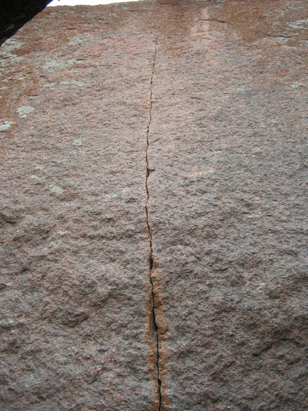 Rock Climbing Photo: Purina C3+ aid seam.