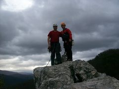 Rock Climbing Photo: South summit of Seneca Rocks.