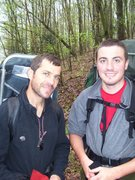 Rock Climbing Photo: Two Zooks in the wilderness...neither having shave...