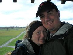 Rock Climbing Photo: My mountain wife and I.