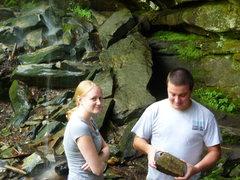 "Rock Climbing Photo: Melissa:  ""Why do you have that rock?"" E..."