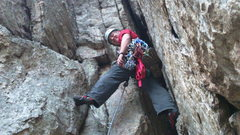 3rd pitch, Skyline Traverse, Seneca Rocks.