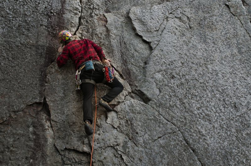 Rock Climbing Photo: only 55 foot climb, but one hell of a view.