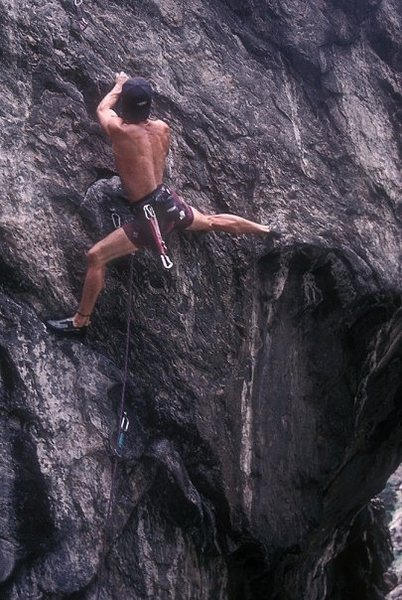Rock Climbing Photo: Another classic checked off the tick list, circa 1...