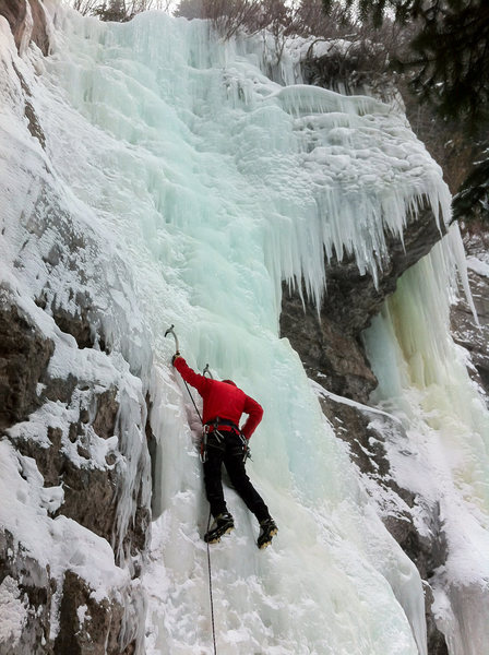 Rock Climbing Photo: Dan Bogardus on East of the West.