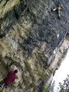 Rock Climbing Photo: Upper crimp fest!