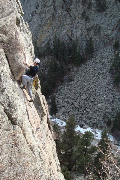 Me climbing Animation aka Jaycene's Dance on Animal World in Boulder Canyon