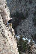 Rock Climbing Photo: Me climbing Animation aka Jaycene's Dance on Anima...