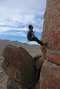 Rock Climbing Photo: alien head