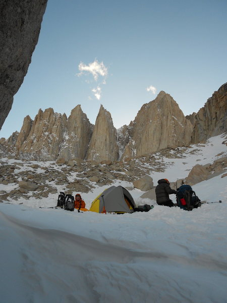 Rock Climbing Photo: Mountaineers route, Whitney