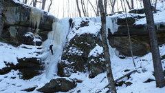 Rock Climbing Photo: Cox Hollow.