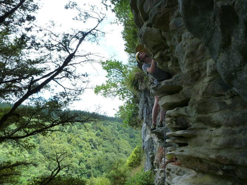 Rock Climbing Photo: Lots of plates