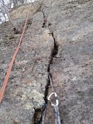 Rock Climbing Photo: Great crack for finger locks and jams.