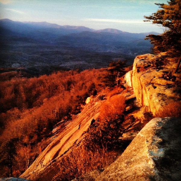 Rock Climbing Photo: Mt. Yonah