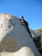 Rock Climbing Photo: Woodward on Slap and Tickle