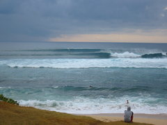 Rock Climbing Photo: winter morning hookipa Photo: Olaf Mitchell