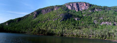 Rock Climbing Photo: Views of Upper and Lower Washbowl, Creature Walls ...