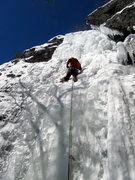 Rock Climbing Photo: Cave Route 2/10/13  I do find this climb to be a b...