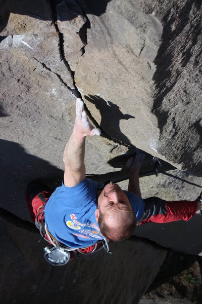 Rock Climbing Photo: Flying Circus 5.12b / Ettringen