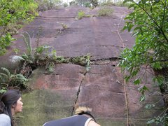 Rock Climbing Photo: First Wall